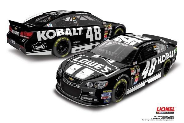 Jimmie Johnson 48 Kobalt Chevrolet