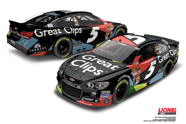 Kasey Kahne 5 Great Clips Chevrolet