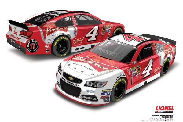 Kevin Harvick 4 Budweiser Chevrolet