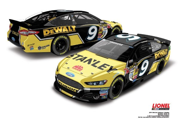 Marcos Ambrose 9 Stanley Ford