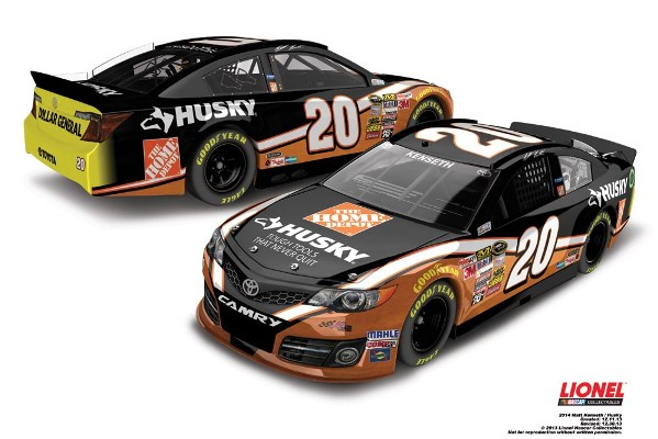 Matt Kenseth 20 Husky Ford