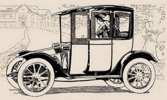 1912 Hupp-Yeats Electric Coach