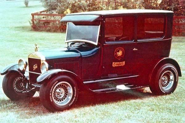 1974 Don Campbell 1927 Ford T Sedan Tartan T