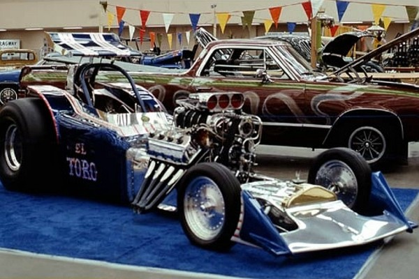 1976 El Toro Ford T Fuel Altered Bob Sweatt