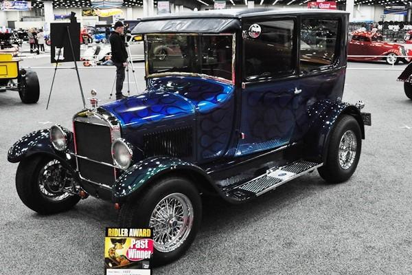 1977 Frank Camden 1926 Ford T Sedan