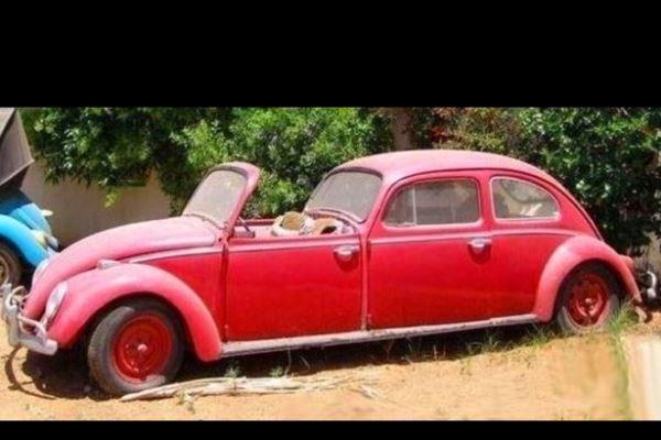 Volkswagen Beetle Open Front Town Car