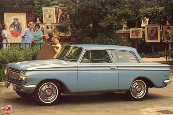 1962 AMC Rambler American Coupe