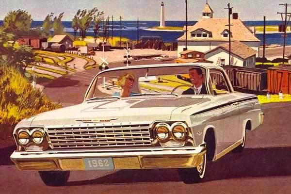 1962 Chevrolet Impala Sport Coupe