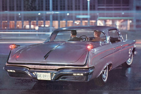 1962 Chrysler Imperial four-door hardtop