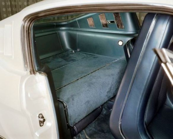 7 Edsel Ford II Mustang rear shelf