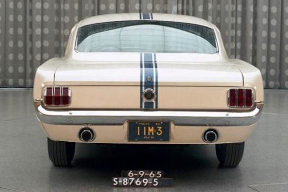 9 Edsel Ford II Mustang rear