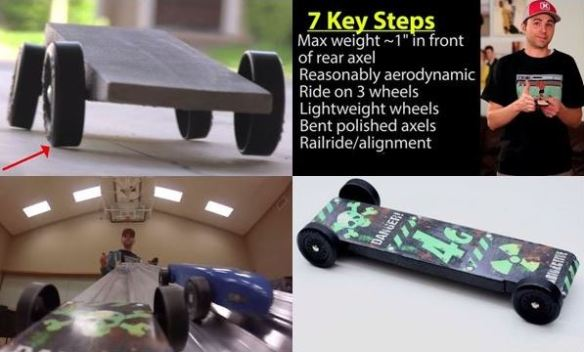 Pinewood Derby video