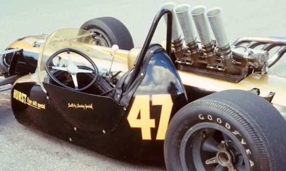 Smokey Yunick capsule car wheel and shifter