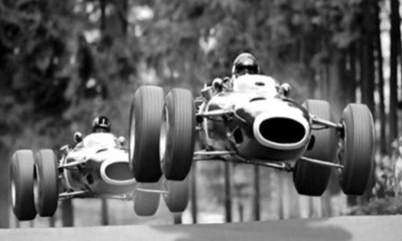 Stewart Hill Nurburgring 1966