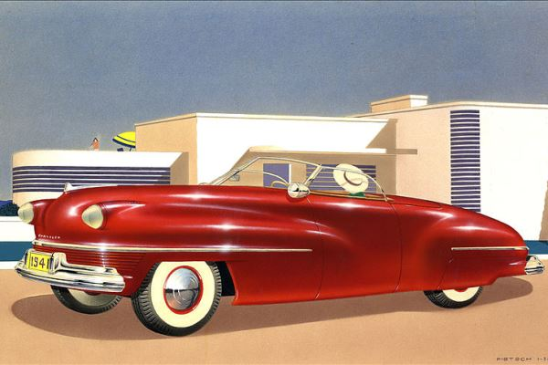 1941 Chrysler Convertible proposal