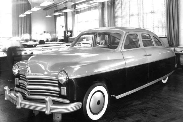 1946 July Plymouth clay
