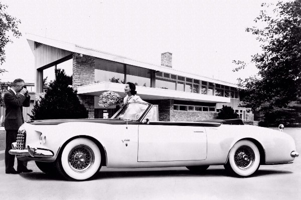 1952 Chrysler C-200 convertible concept