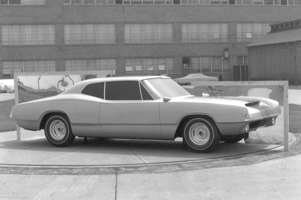 1968 Dodge Charger clay proposal