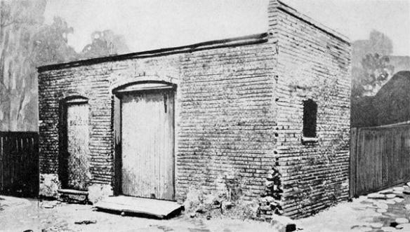 Ford's workshop behind 58 Bagley Street in 1911