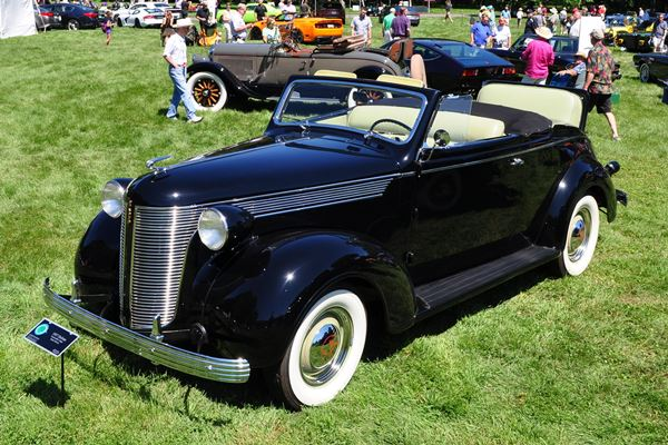 1937 DeSoto Convertble Coupe Burke Brown