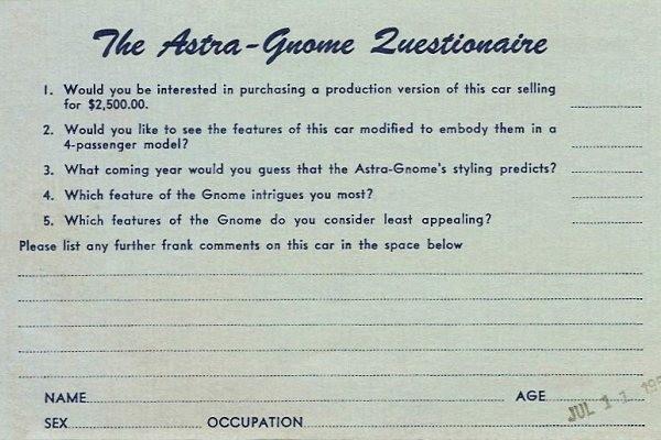 Astra-Gnome survey
