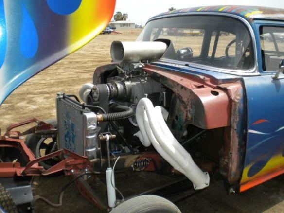 Flamed 55 Engine