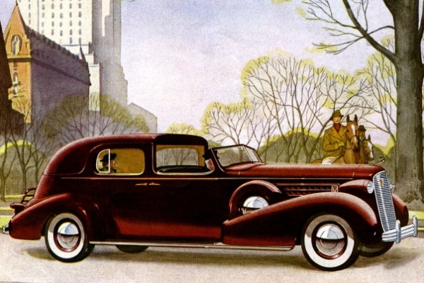 1936 Cadillac Fleetwood Town Cabriolet