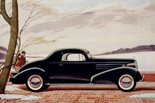1936 Cadillac Sereies 60 Coupe