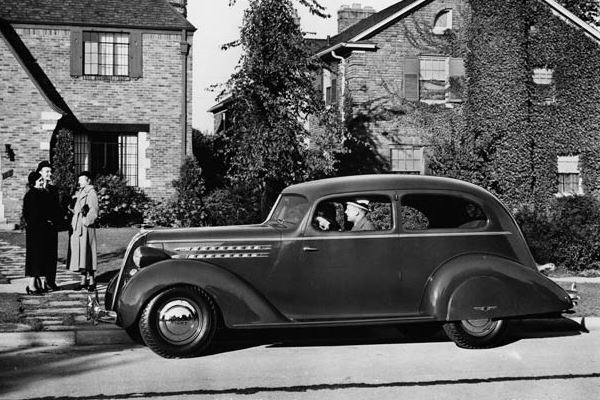 1936 Hudson Eight Coach