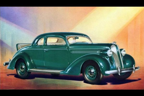 1936 Plymouth DeLuxe Rumble Seat Coupe