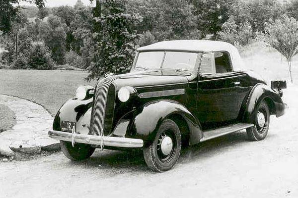1936 Pontiac Convertible Coupe