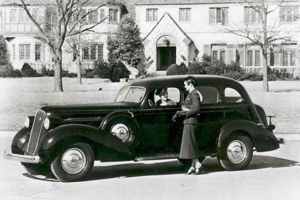 1936 Studebaker President Sedan