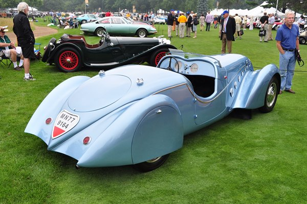 1938 Peugeot 402 Dall'mat Sport Roadster by Pourtout Mark Hyman