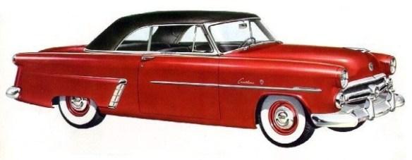 1952 Ford Crestline V-8 Sunliner