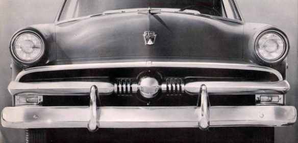 1953 Ford grille and parking lamps