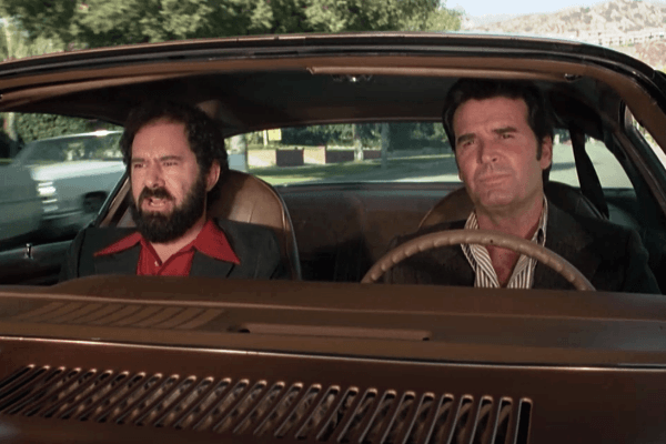 with Stuart Margolin in the Rockford Files