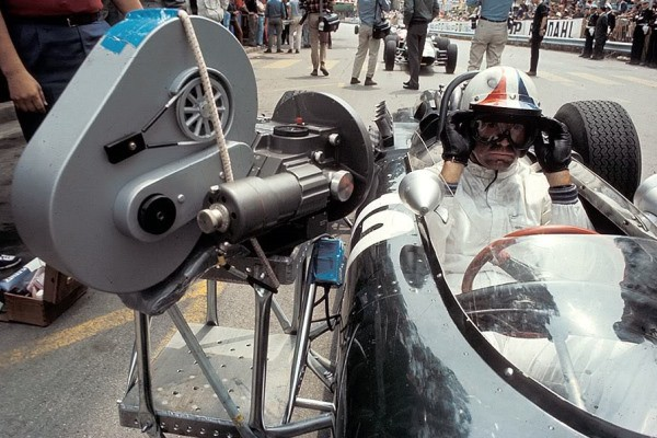 with camera rig filiming Grand Prix