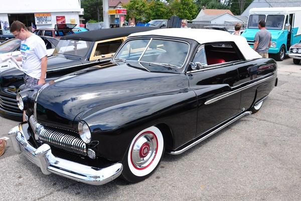 1951 Mercury Convertible custom
