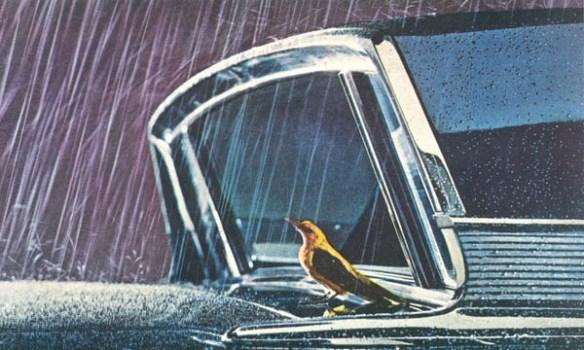 1963 Mercury Monterey Breezeway closeup