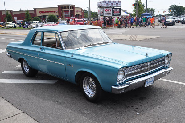 1965 Plymouth Belvedere 2dr post