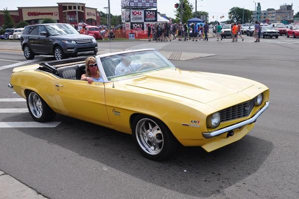 1969 Chevrolet Camaro SS Convertible