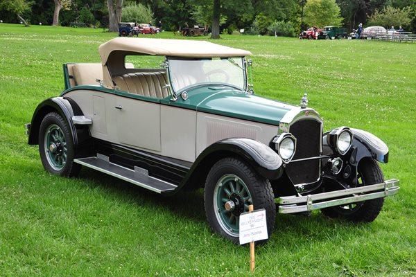1926 Willys-Knight 66 Roadster Jerry Szostak