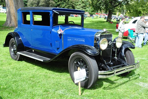 1928 LaSalle Victoria Coupe Christopher Ford
