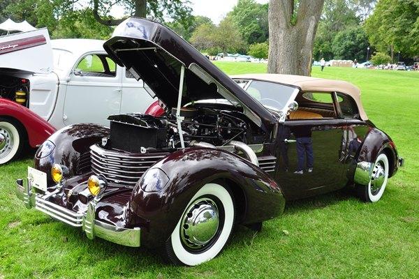 1937 Cord 812 SC Phaeton Charlie Seganek