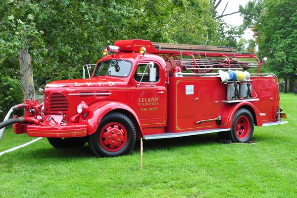 1947 Reo C-19-A fire engine David Edeger