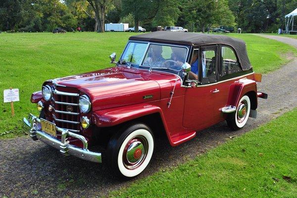 1950 Willys Jeepster David Nightingale
