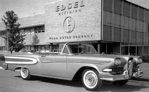 1958 Edsel at Edsel HQ