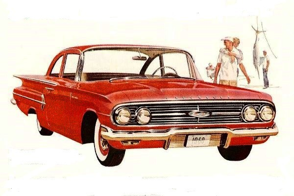1960 Chevrolet Bel Air two-door sedan
