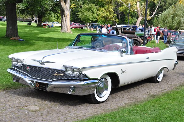 1960 Imperial Crown Convertible Peter and Ann-Marie Rock