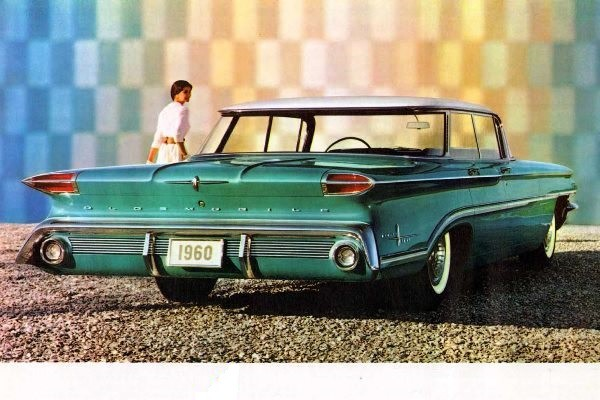 1960 Oldsmobile Ninety-Eight Sport Sedan